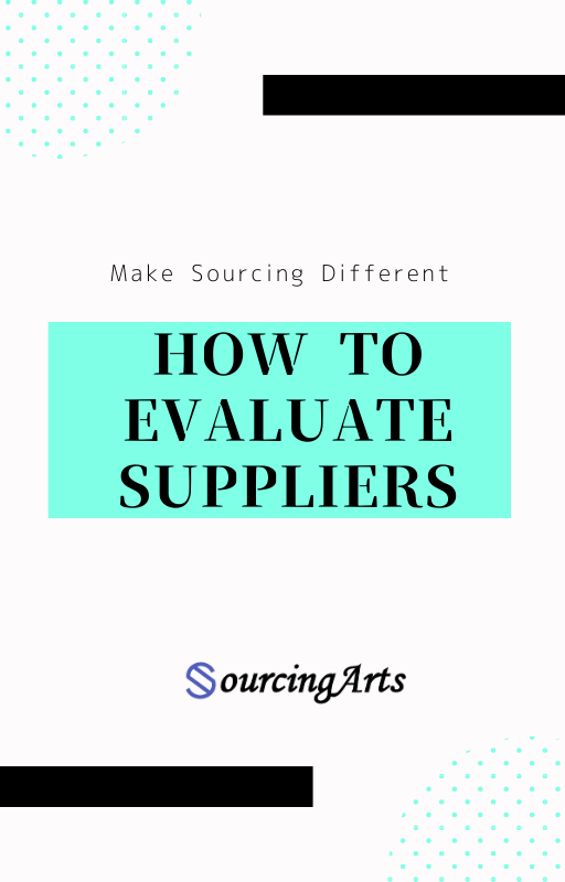 How to evaluate suppliers